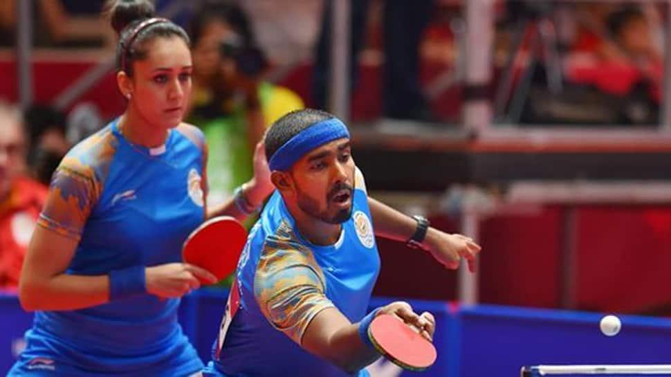 Asian Games Table Tennis: Sharath Kamal, Manika batra enter mixed doubles semis, assured of medal