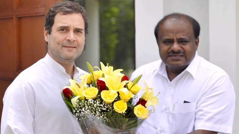 JDS-Congress complete 100 days in power, BJP questions work done for Karnataka