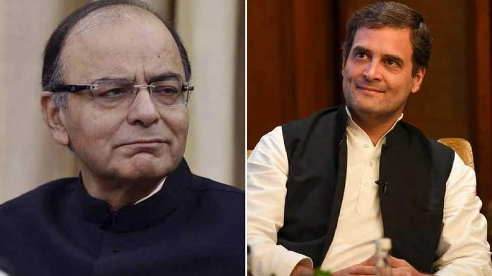Purpose of note ban achieved, claims Jaitley; Rahul asserts it only helped PM's 'friends'