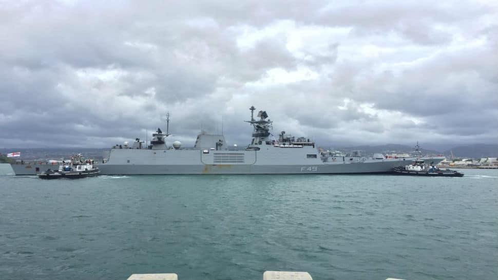 Exercise Kakadu 2018: INS Sahyadri reaches Darwin for multi-nation maritime engagement