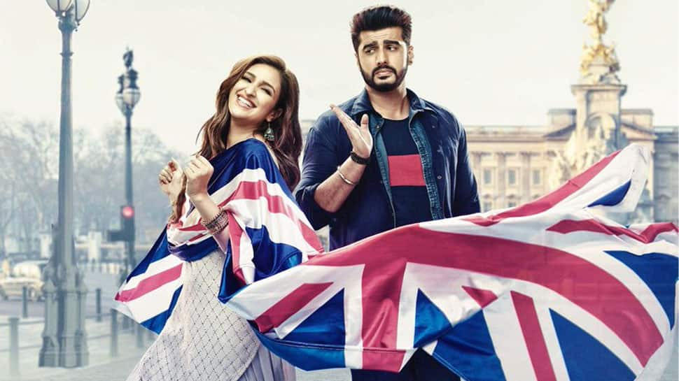 Arjun Kapoor feels Parineeti Chopra is lucky to share magazine cover with him-See inside