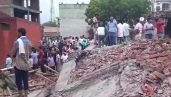 Woman dead, 3 injured as building collapses in Ghaziabad