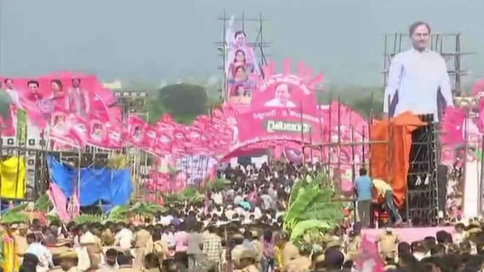 TRS public rally, highlights: KCR says Telangana won't ever surrender to Delhi leadership