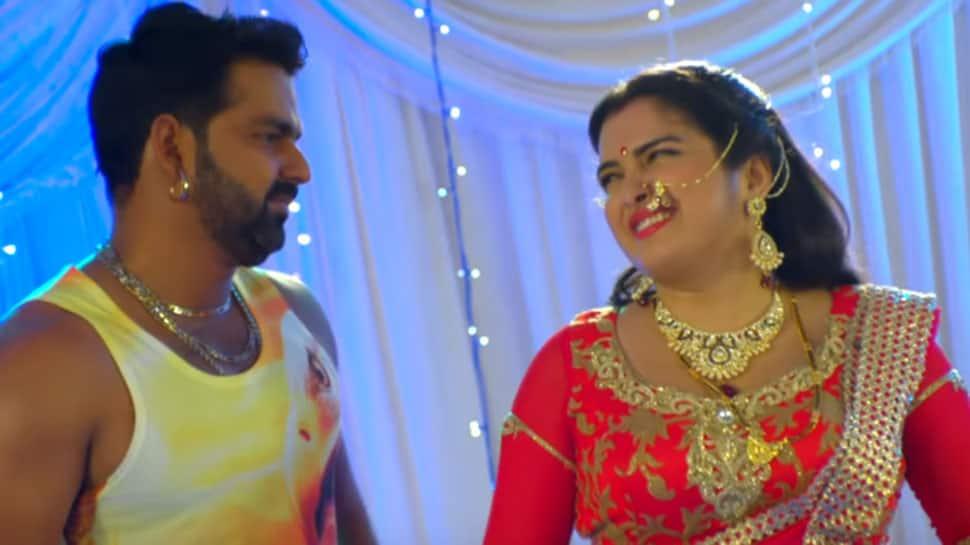 Amrapali Dubey-Pawan Singh's Raat Diya Butaake garners 119 million views on Youtube-Watch