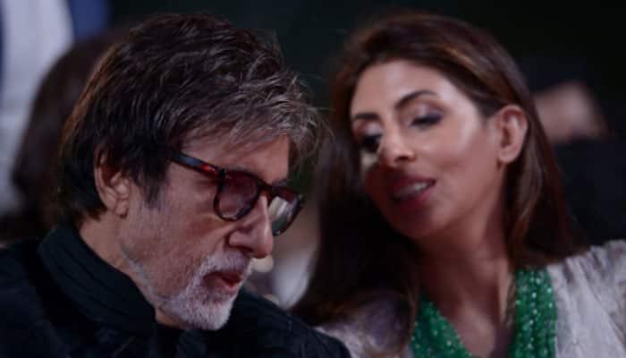 Bachchans, Bollywood celebs support Shweta's design debut