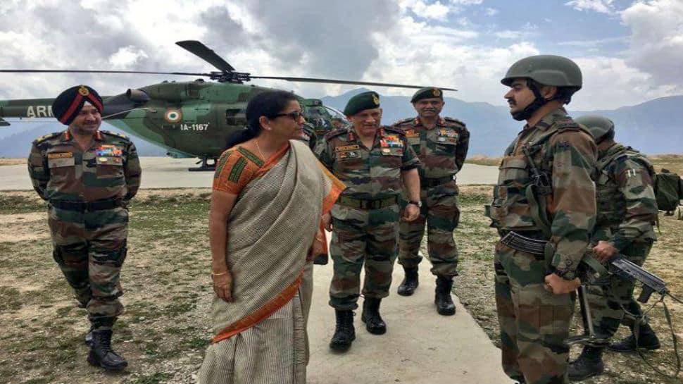 Nirmala Sitharaman reviews security situation in Kashmir