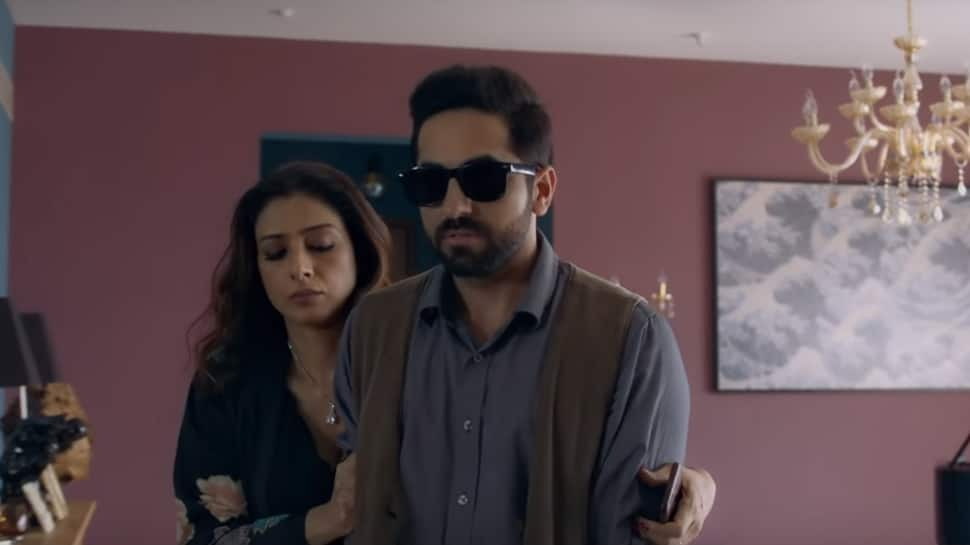 Andhadhun Tabu Ayushmaan Khurrana S Latest Poster From Upcoming Thriller Looks Gripping Movies News Zee News