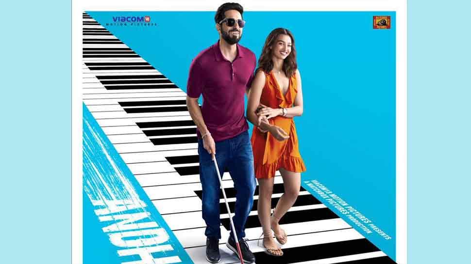 Andhadhun Ayushmann Khurrana Radhika Apte Stumble Upon Love Hand In Hand Movies News Zee News