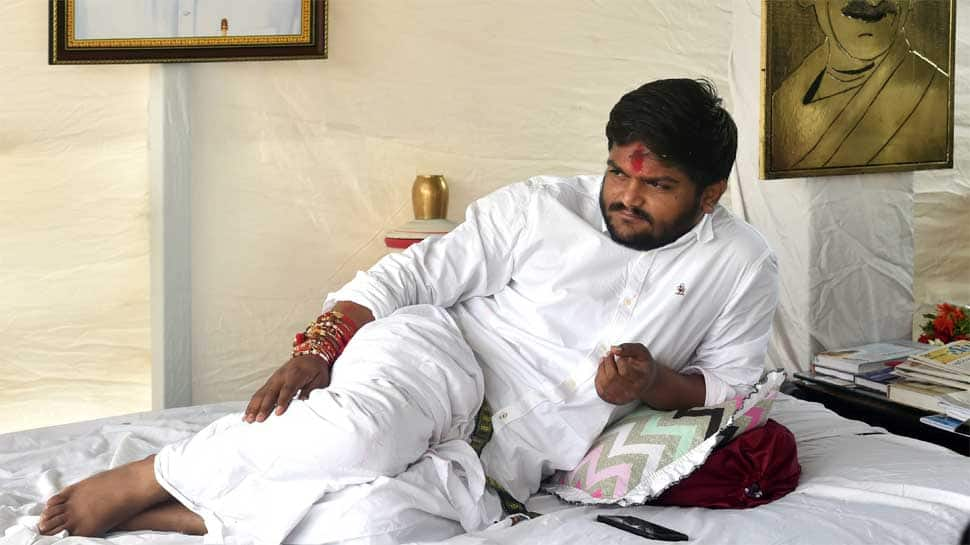 Hardik Patel on 11th day of fast demanding Patidar reservation, loses 20 kg weight