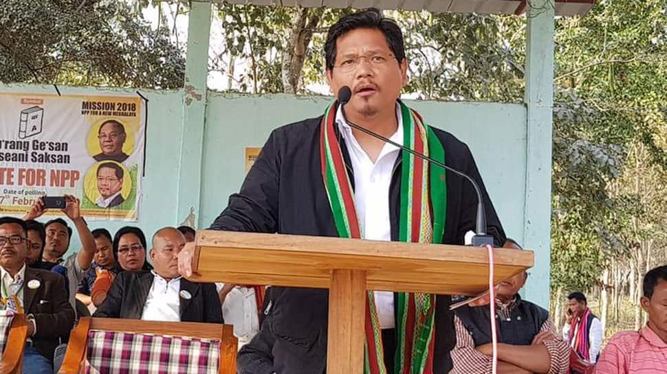 Meghalaya Chief Minister Conrad K. Sangma quits Lok Sabha