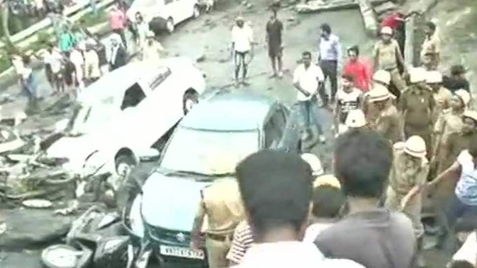 Majerhat bridge collapse in South Kolkata