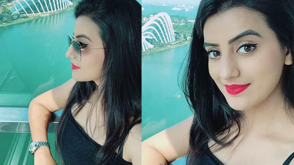 Akshara Singh looks ravishing in black in latest Instagram post—See pics