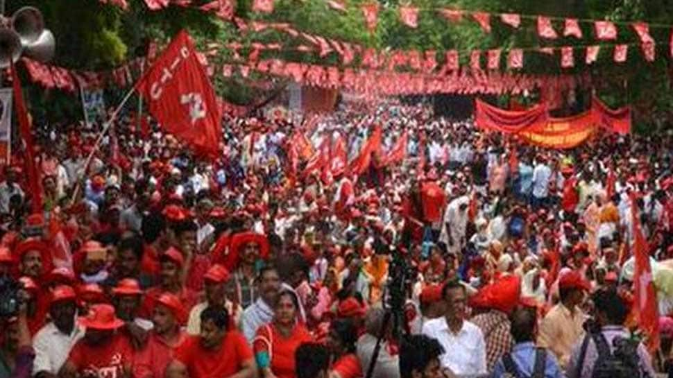 Farmers-workers rally in national capital demanding loan waiver, minimum wage of Rs 18,000