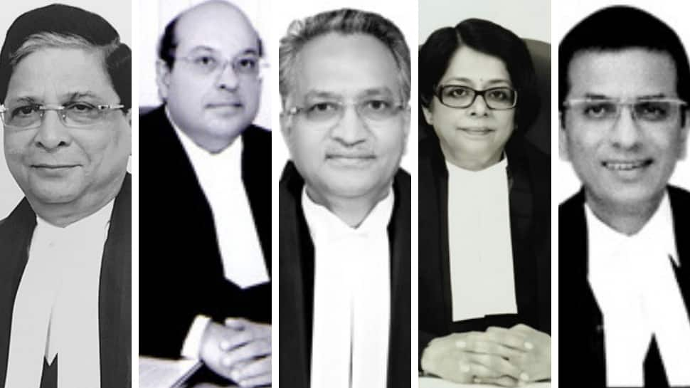 The SC judges who delivered the historic verdict on Section 377 and homosexuality