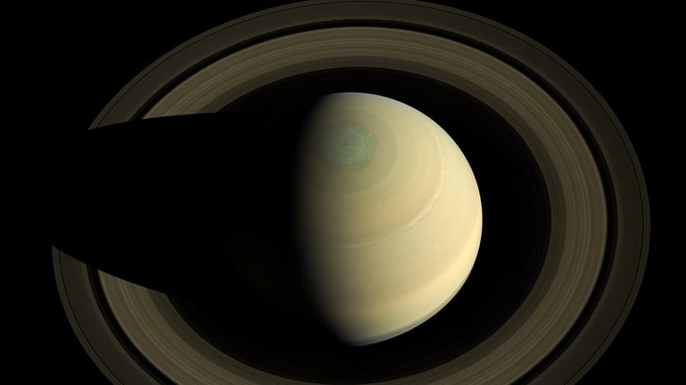 Towering hexagonal vortex spotted on Saturn: Scientists