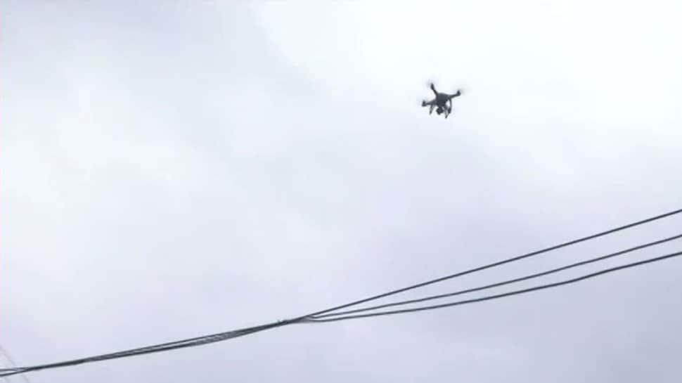 Bharat Bandh: Drones cameras used for surveillance in Gwalior