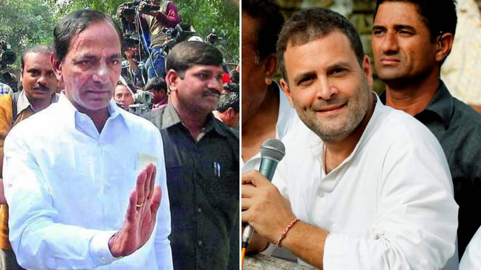 Rahul Gandhi biggest buffoon in the country, let's not become slaves to Congress: KCR