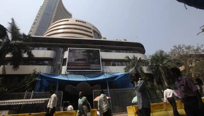 Equity indices open in red; Sensex loses over 100 points