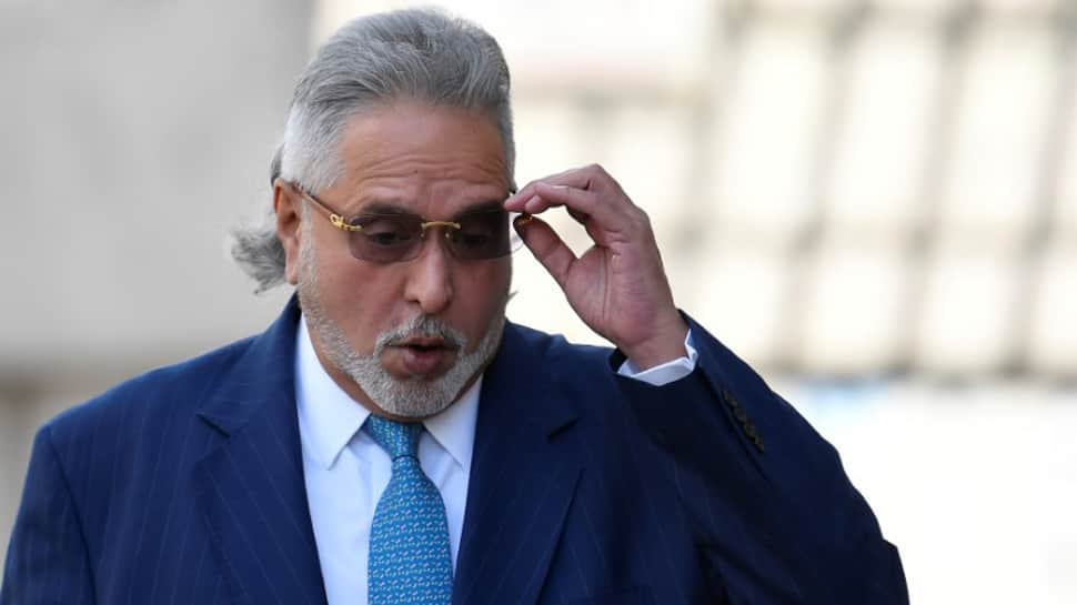 Vijay Mallya seen at The Oval for India's 5th Test match against England