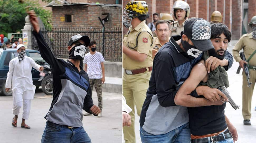 Disguise as stone pelters to catch real culprits - new strategy of J&K Police to tackle stone-pelting