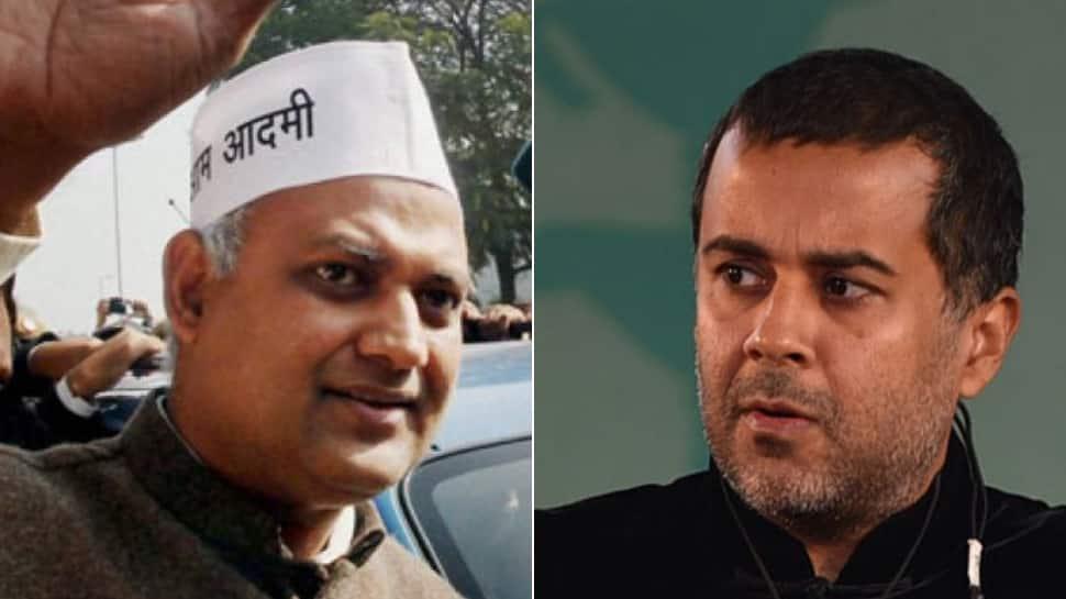 Somnath Bharti vs Chetan Bhagat over BJP and IIT alumni awards