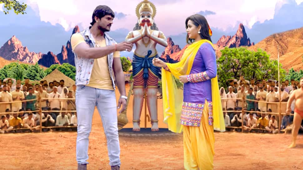 Khesari Lal Yadav and Kajal Raghwani's 'Balam Ji Love You' first look motion poster out—Watch