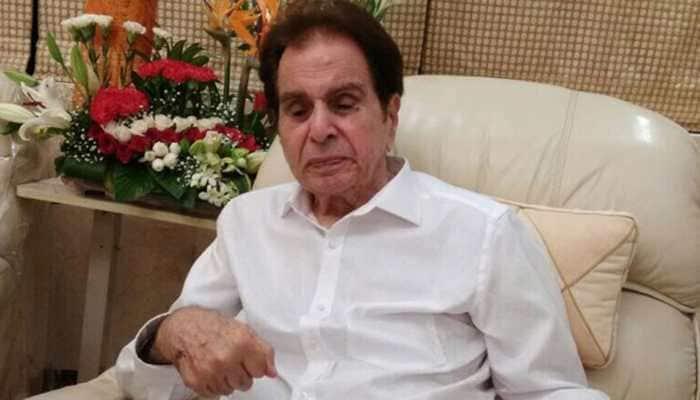Dilip Kumar still in ICU, improving