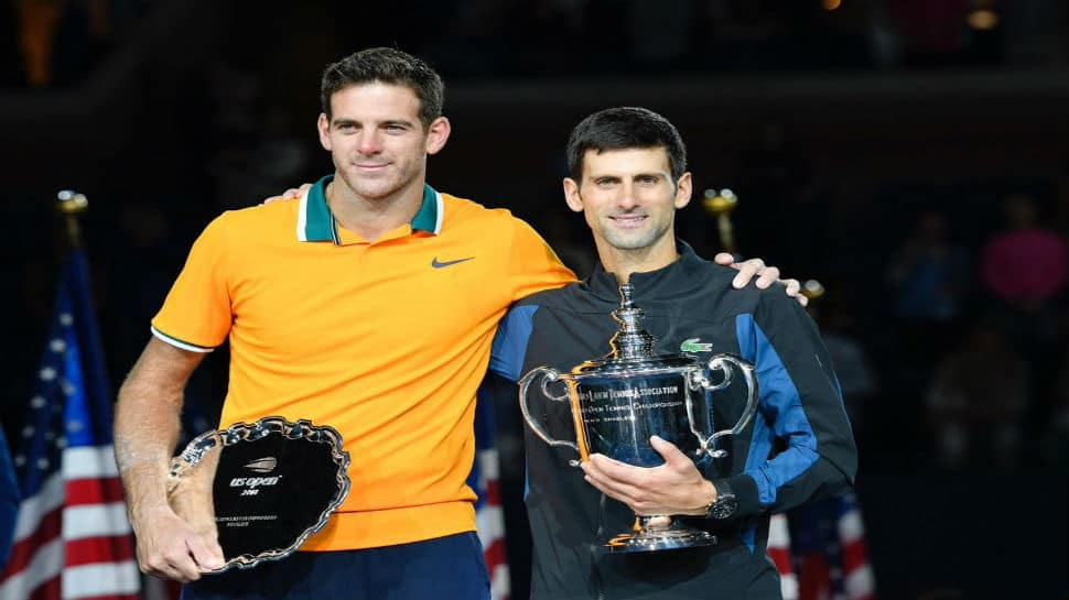 Novak Djokovic defeats Juan Martin del Potro for third US Open title