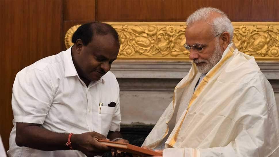 Karnataka CM meets PM Modi, seeks Rs 1,199 crore as flood relief