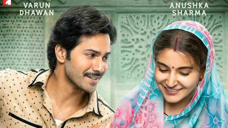 Sui Dhaaga: Varun Dhawan looks lovingly at his embroiderer wife Anushka Sharma in the new poster