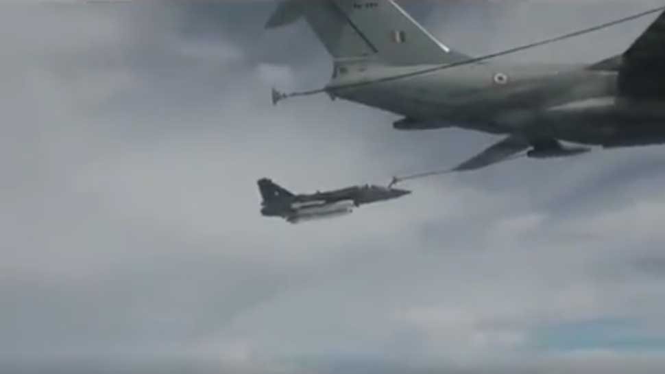 Watch: IAF successfully conducts first ever mid-air refuelling of LCA Tejas