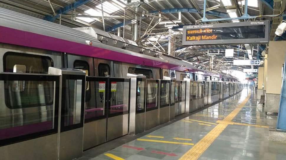 Delhi metro Magenta Line services affected from Kalkaji Mandir to Botanical Garden