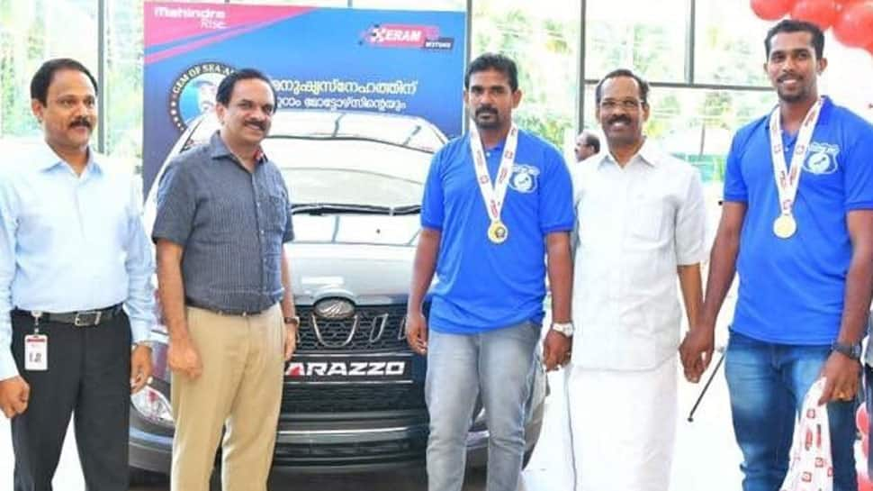 Kerala fisherman Jaisal gets a brand new Mahindra Marazzo for helping flood victims