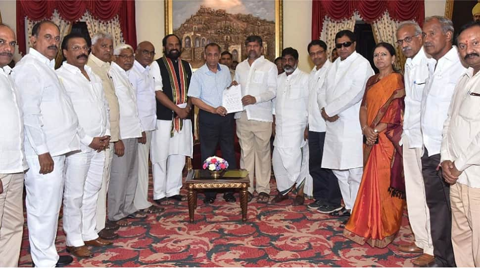 Telangana: Congress, TDP, CPI form grand alliance against TRS; call for President's rule