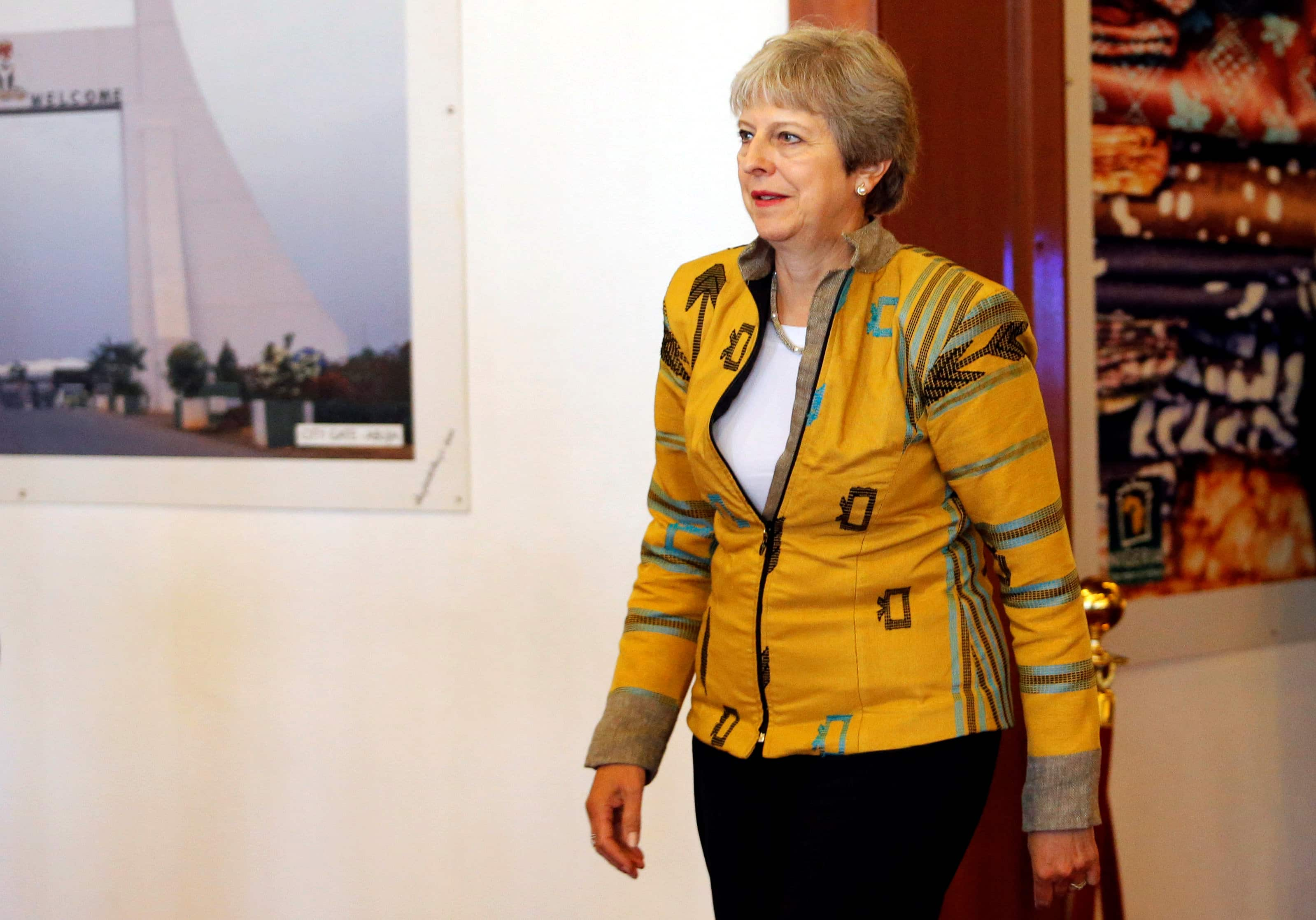 About 50 Conservative lawmakers discuss ousting UK Prime Minister Theresa May: BBC