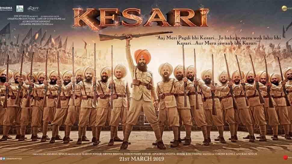 Kesari first look poster out: Akshay Kumar looks fierce as a turbaned warrior