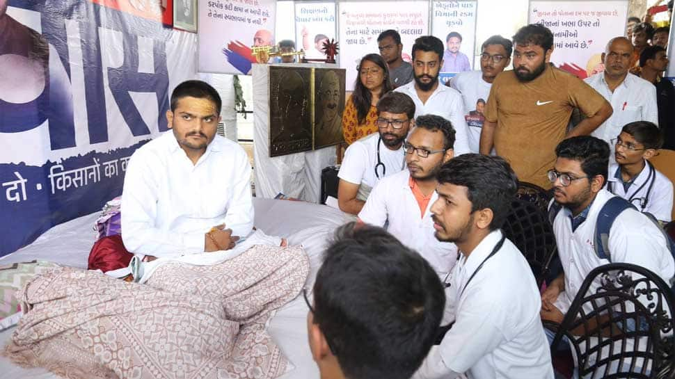 Hardik Patel ends indefinite fast after 19 days, says fight for farmers, Patidars will continue