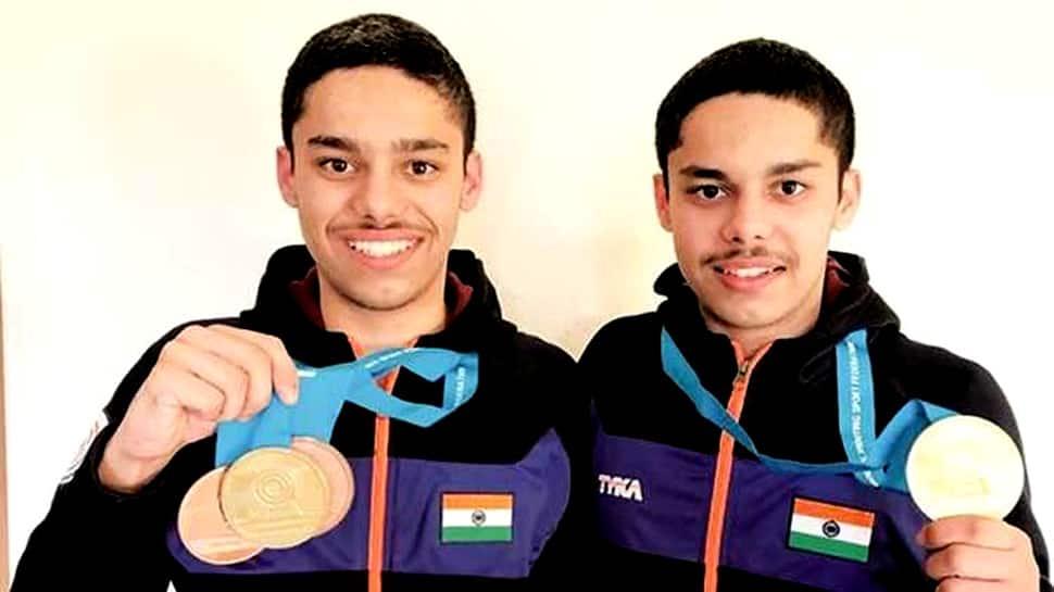 ISSF World Shooting Championship: Udhayveer Sidhu bags Gold in Junior Men's 25m Pistol
