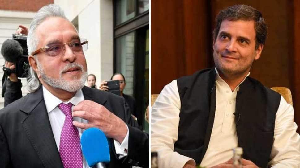 Vijay Mallya named Arun Jaitley after Rahul Gandhi's visit to London: BJP
