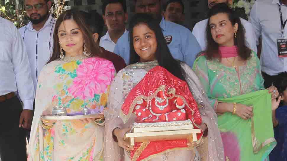 Ganesh Chaturthi 2018: Salman Khan's sisters Alvira, Arpita welcome Bappa home