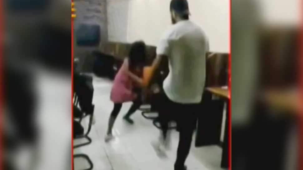 Delhi policeman's son thrashes girl, pulls her by the hair; Rajnath Singh takes note