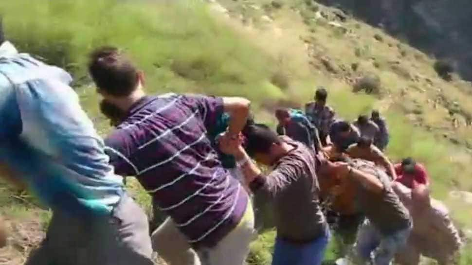 17 dead as mini bus falls into deep gorge in J&K's Kishtwar, 11 airlifted to Jammu
