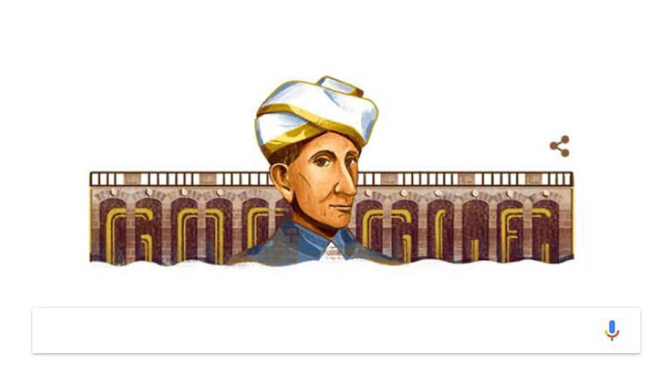 Google Doodle honours M Visvesvaraya on his 157th birth anniversary