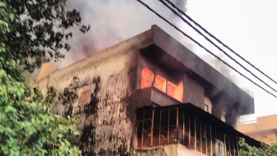 Major blaze in factory in Delhi's Udyog Nagar, fire fighting ops underway