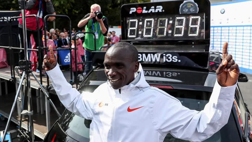 Kenya's Eliud Kipchoge shatters Marathon world record in Berlin