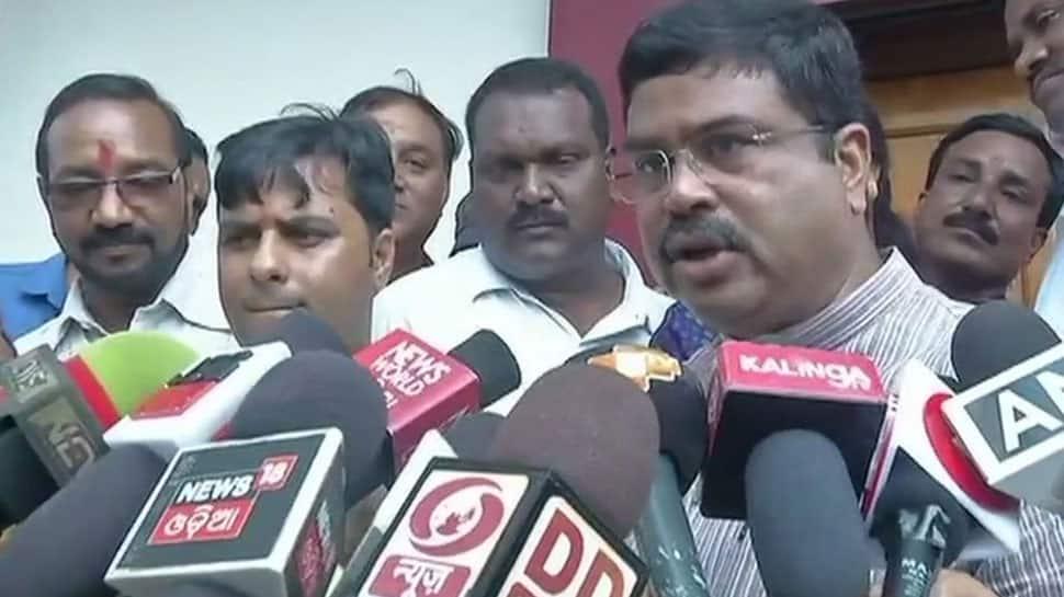 Oil Minister Dharmendra Pradhan requests Odisha CM to reduce VAT on petrol, diesel