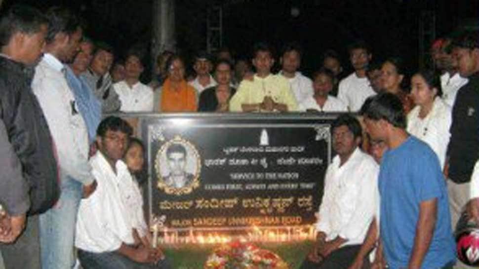 26/11 hero Major Sandeep Unnikrishnan's plaque vandalised in Bengaluru; Congress, BJP join public outcry
