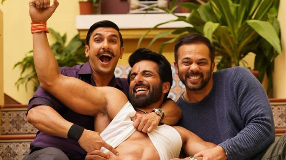 Ranveer Singh, Sonu Sood and Rohit Shetty's bromance on the sets of Simmba is unmissable - See pic