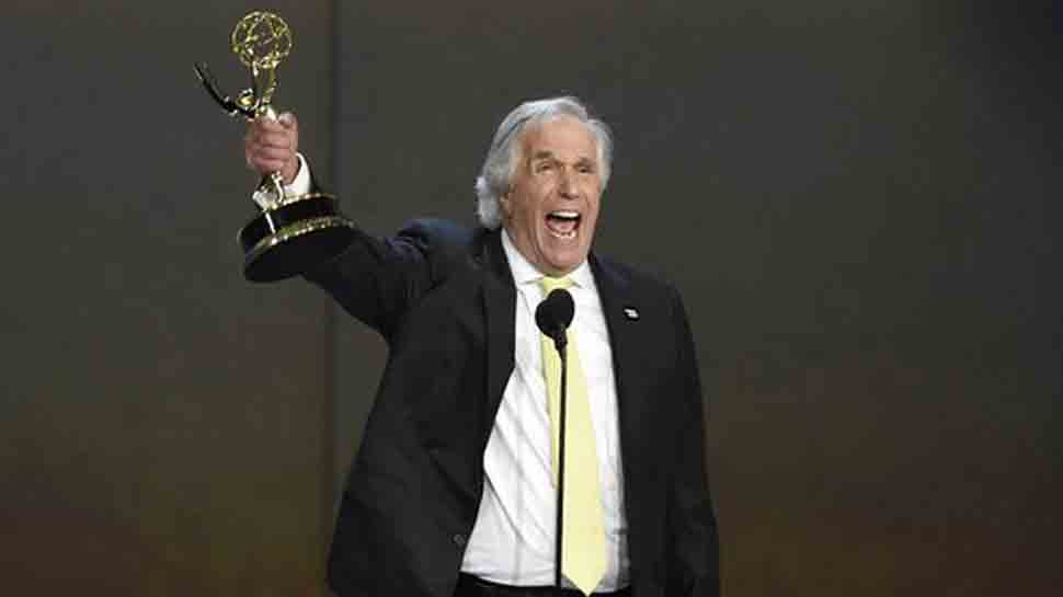 Henry Winkler takes home first-ever Emmy award for Barry