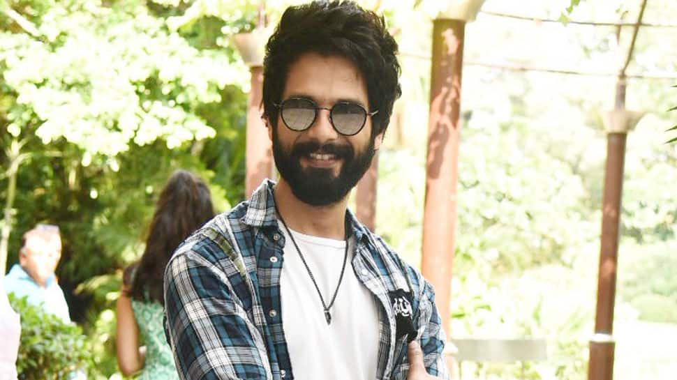 My father inspires me a lot, says Shahid Kapoor